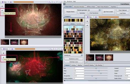 JWildfire V0.46 screenshot