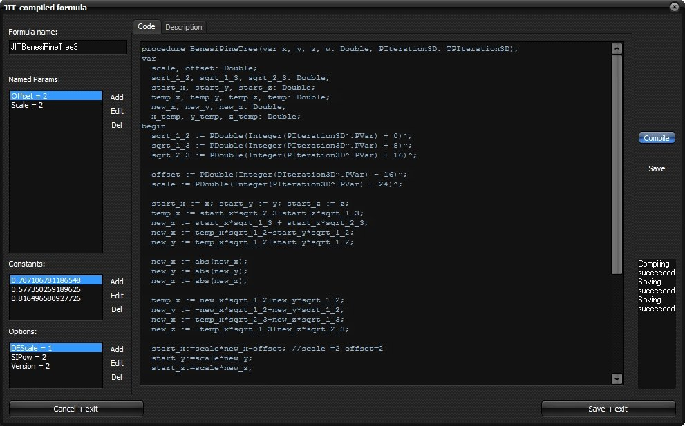 MB3D JIT-Formula-Editor