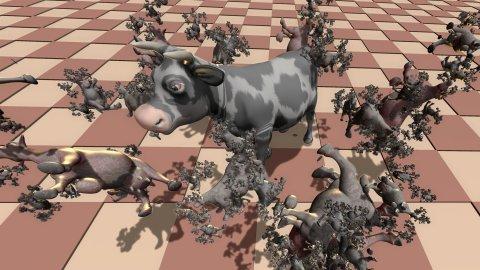 Hyper cow