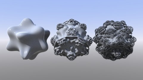Mandelbulb-plugin for Lightwave 2019